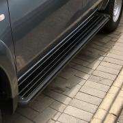 Пороги площадкой для Mitsubishi L200 (2006 - 2015)