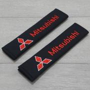 Подкладки для ремней безопасности для Mitsubishi Pajero 4 (2007 - ...)