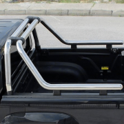 Дуга багажника хром Roll Bar на кузов пикапа для Nissan Navara (2005 - 2014)
