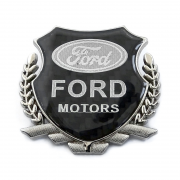 Эмблема герб карбон для Ford Focus (2000 - 2005)
