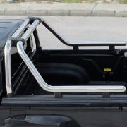 Дуга в багажник хром Ролл-Бар для Toyota Hilux (2006 - 2015)