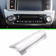 Хром-накладка на кондиционер для Toyota Prado 150 (2009 - 2017)