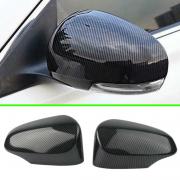 Накладки на зеркала карбоновые для Toyota Corolla (2013 - ...)