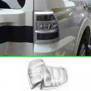 Хром на задние фонари для Mitsubishi Pajero 4 (2007 - ...)