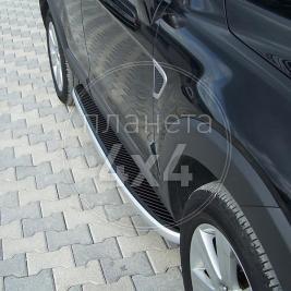 Боковые пороги Chevrolet Captiva (2006 - ...)