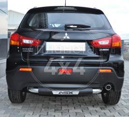 Подкова заднего бампера Mitsubishi ASX (2010 - ...)