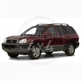 Hyundai Santa Fe (2002 - 2005) аксессуары