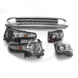 Набор оптики с решёткой радиатора в стиле Range Rover Toyota FJ Cruiser (2006 - ...)