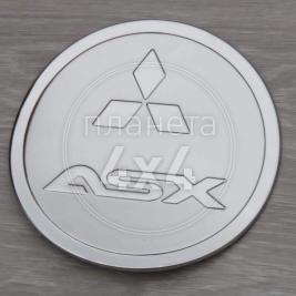Накладка на лючок бензобака Mitsubishi ASX (2010 - ...)