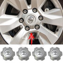 Колпачки колесных дисков Toyota Hilux (2015 - ...)
