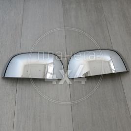 Накладки на зеркала Mitsubishi Outlander XL (2007 - ...)